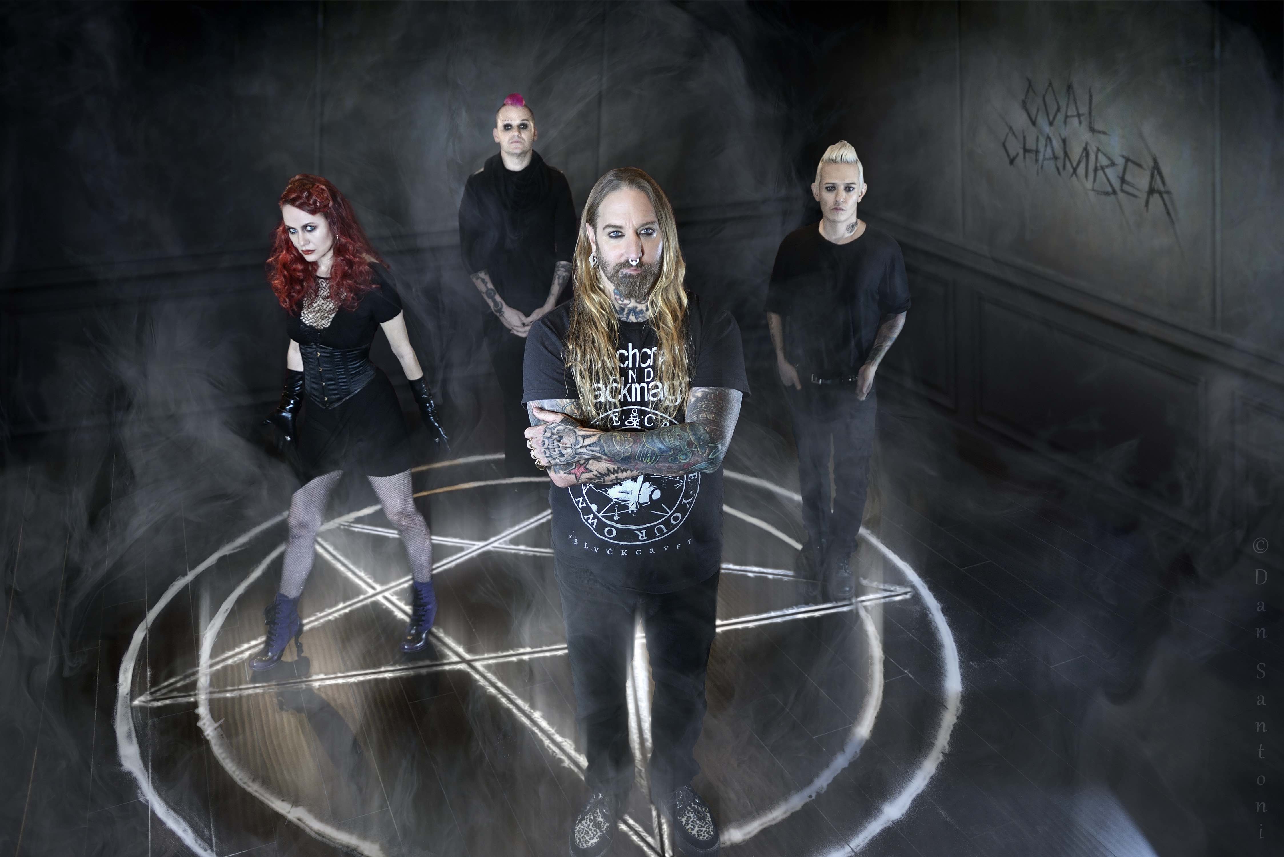 "COAL CHAMBER Premiere Lyric Video For ""Nail In The Coffin"" Wrap Up ..."