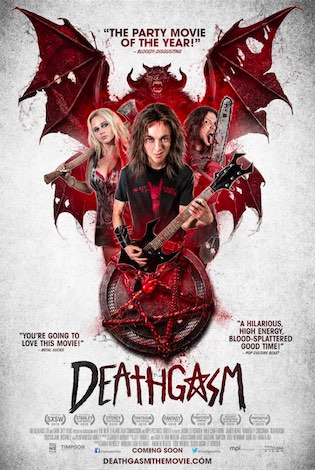 the br tal new deathgasm poster heavy metal full length film in cinemas and on vod october 2. Black Bedroom Furniture Sets. Home Design Ideas