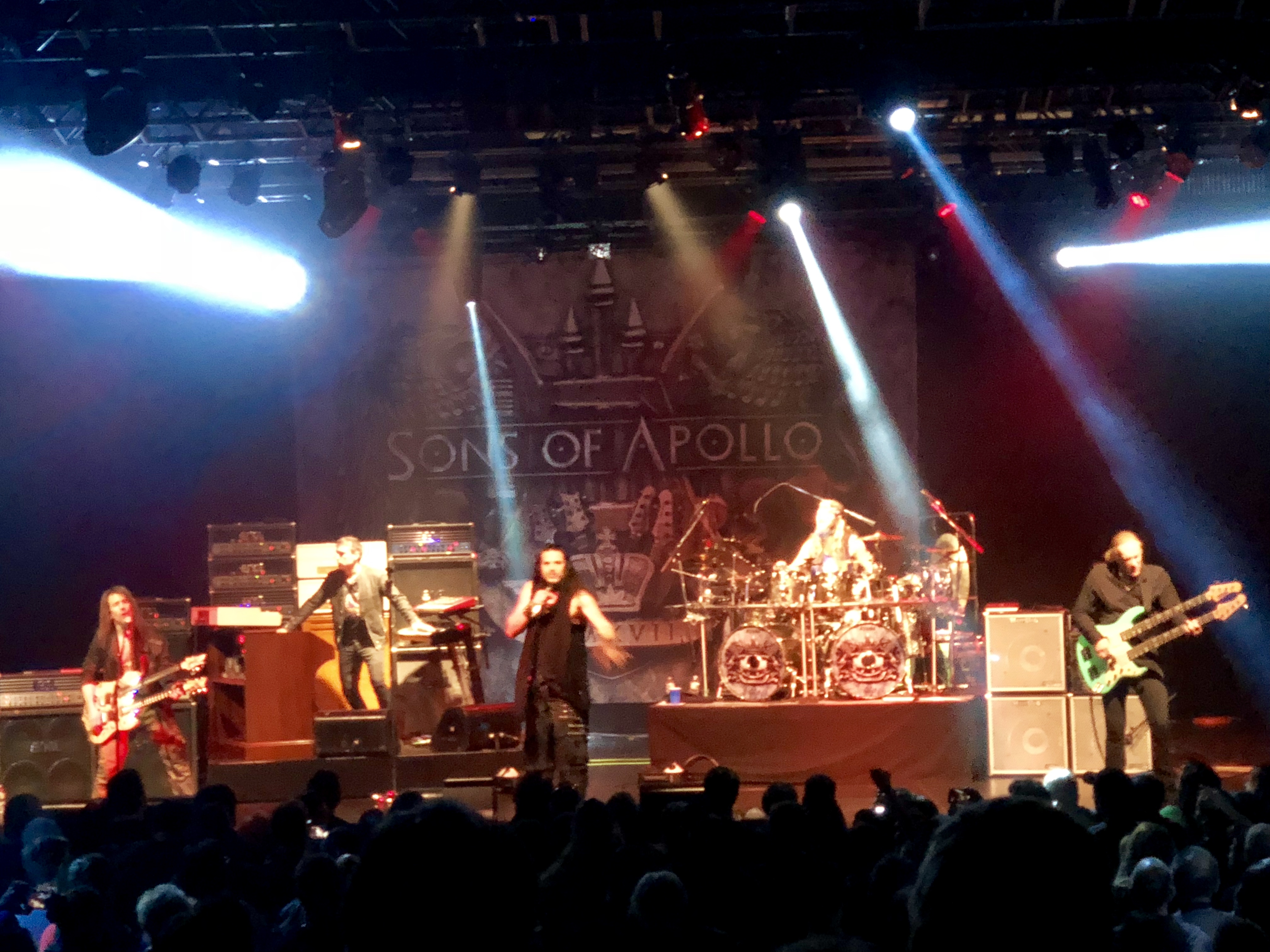 Sons Of Apollo performing live